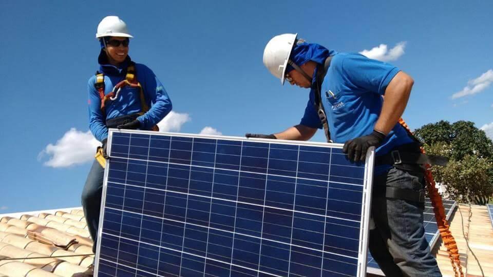 Energia Fotovoltaica - painel solar