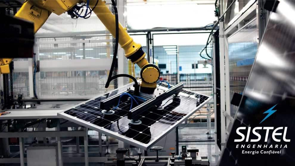 Como são fabricados os painéis solares?