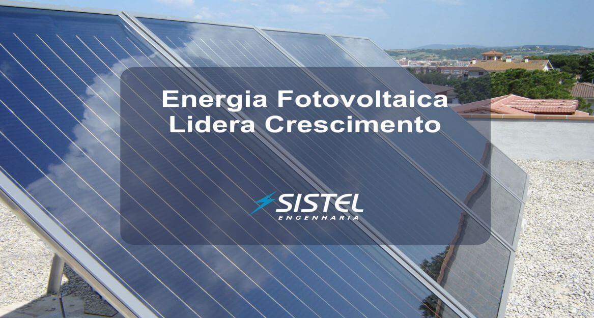 Energia fotovoltaica é a que mais cresce