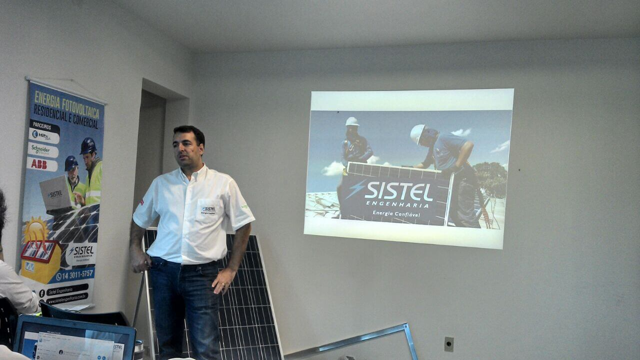 Treinamento realizado pela Sistel é um sucesso!