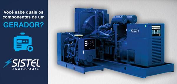 imagem de um gerador de energia
