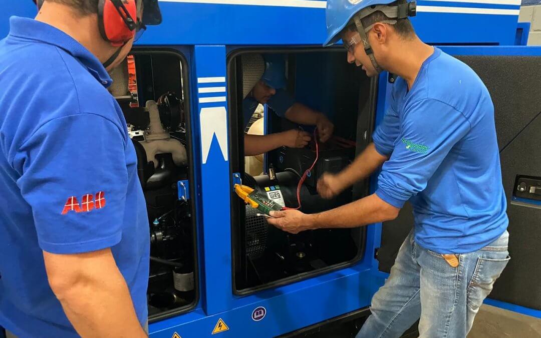 SisHelp oferece atendimento emergencial para manutenção de geradores de energia